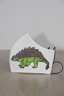 Rúška - Detské rúško - Dinosaurus 4 - 11833745_
