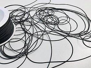 Galantéria - Klibúkova guma 1,2mm šedá tm. - 11833622_