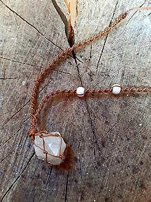 Náhrdelníky - Macrame prívesok amulet - 11831340_