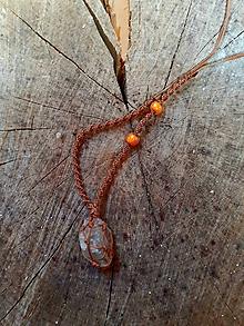 Náhrdelníky - Macrame prívesok amulet 2 - 11831898_