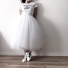 Sukne - Svadobná sukňa 16- vrstvová - 11832505_