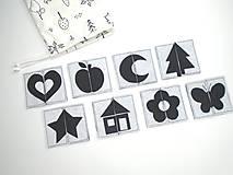 Hračky - Montessori pexeso: čierno-biele - 11833446_