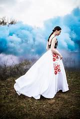 Sukne - Svadobná sukňa Poľana - 11830274_