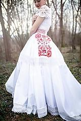 Sukne - svadobná sukňa Slavianka - 11830279_