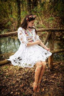 Šaty - madeirové šaty Poľana - 11830326_