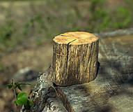 Prstene - Krabička na obrúčky - Pníček - 11832861_
