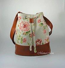 Kabelky - kabelka s ružami - 11831258_