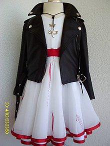 Detské oblečenie - Dievčenské šaty - 11833987_