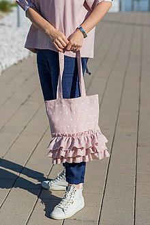 Iné tašky - Ľanová taška Viktoria - 11832215_