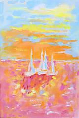 Obrazy - Na mori - 11830715_