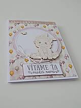Papiernictvo - Pohľadnica k narodeniu bábätka I - 11839547_