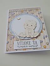 Papiernictvo - Pohľadnica k narodeniu bábätka II - 11839571_