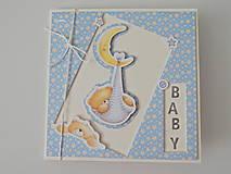 Papiernictvo - Pohľadnica k narodeniu bábätka IV - 11839621_