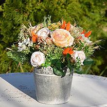 Dekorácie - Dekorácia s ružami - 11838363_