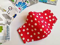 Rúška - Detské tvarované RÚŠKO s drôtikom - 11838370_