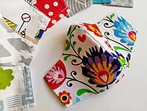 Rúška - Detské tvarované RÚŠKO s drôtikom - 11838371_
