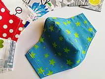 Rúška - Detské tvarované RÚŠKO s drôtikom - 11838376_
