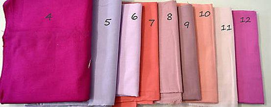 Rúška - rúško jednofarebné podľa vlastného výberu-letné - 11835995_
