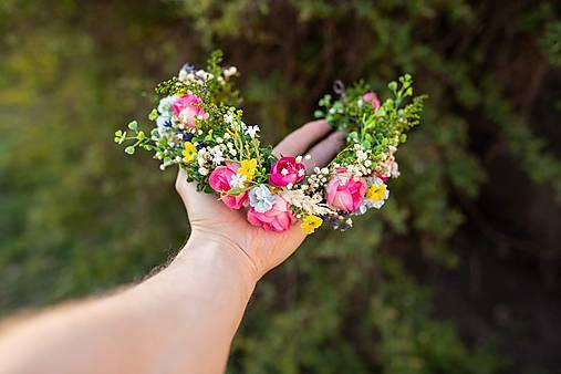 """Kvetinový polvenček """"farby leta"""""""