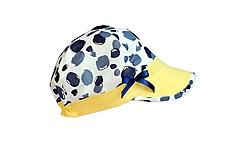 Detské čiapky - Ultratenká šiltovka yellow fresh - 11839913_