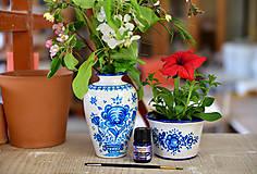 Balíček na domáce maľovanie - Váza a kvetináč