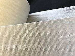 Textil - Podlepovací materiál do saka biely - 11843130_