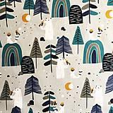 Textil - Scandi, 100 % bavlna Francúzsko, šírka 150 cm - 11840638_