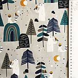 Textil - Scandi, 100 % bavlna Francúzsko, šírka 150 cm - 11840639_