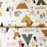 Textil - Indiánsky les, 100 % bavlna Francúzsko, šírka 150 cm - 11840650_