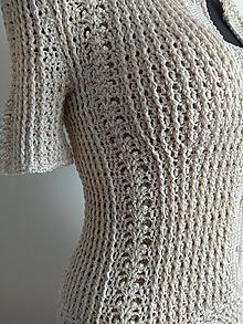 Šaty - Háčkované šaty - 11845061_