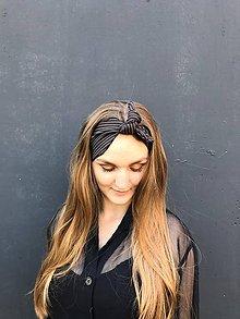 Ozdoby do vlasov - Vintage šatka do vlasov a la Pansky oblek - 11845371_