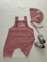 Detské súpravy - Detské nohavice na traky - 11846425_