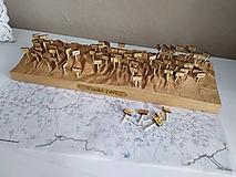 Dekorácie - 3D reliéf Vysokých Tatier (1:110 000) - 11851119_
