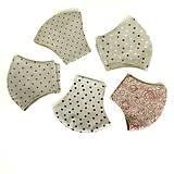 Rúška - Tvarované rúško 100 % bavlna - 11852146_