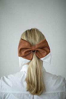 Ozdoby do vlasov - Mašľa Líška - 11852119_