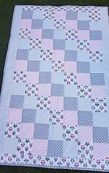 """Úžitkový textil - """"Sovičková"""" patchworková súprava - 11850069_"""