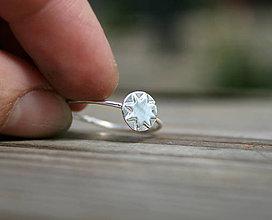 Prstene - Minimalistický slniečkový - 11850823_