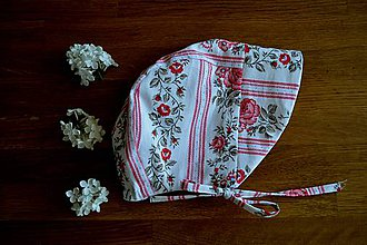 Detské čiapky - Čiapka rosa - 11852924_