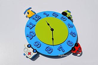 Hodiny - chlapčenské hodiny - 11854615_