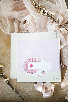 Papiernictvo - Kvetinová pohľadnica - Deň matiek - 11855722_