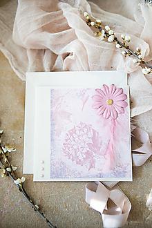 Papiernictvo - Kvetinová pohľadnica - Deň matiek - 11855729_