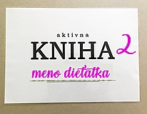 Hračky - aktívna KNIHA 2 - 11857612_
