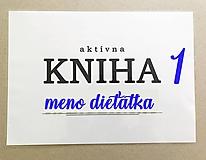 Hračky - aktívna KNIHA 1 - 11857624_