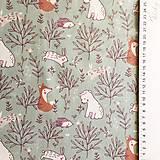 Textil - zvieratká na lúke II, 100 % bavlna Francúzsko, šírka 150 cm - 11853481_