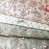 Textil - zvieratká na lúke II, 100 % bavlna Francúzsko, šírka 150 cm - 11853482_