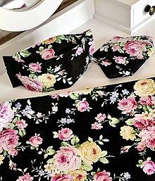 Rúška - Rúško 3D farebné kvety - 11857071_