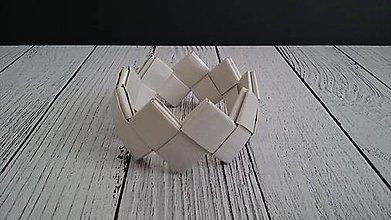 Náramky - Náramok  (Papierový) - 11856234_