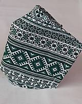 Rúška - Rúško pánske zelené - 11856816_