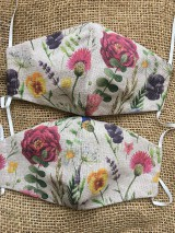 Rúška - Summer flowers - 11857123_
