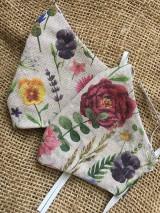 Rúška - Summer flowers - 11857127_